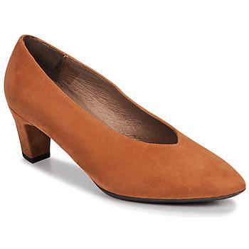 Chaussures Femme Escarpins Wonders I8401-ANTE-CAMEL