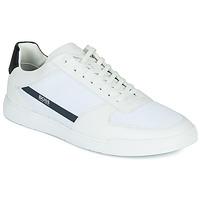 Schuhe Herren Sneaker Low BOSS COSMOPOOL TENN MXME Weiß
