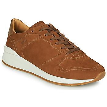 Schuhe Herren Sneaker Low BOSS ELMNT RUNN NUSF Kognac