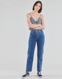 Abbigliamento Donna Jeans dritti Levi's RIBCAGE STRAIGHT ANKLE