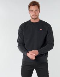 Vêtements Homme Sweats Levi's NEW ORIGINAL CREW Noir