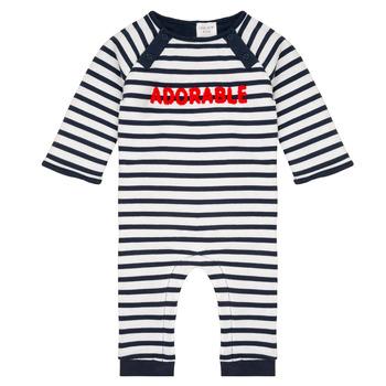 Kleidung Jungen Overalls / Latzhosen Carrément Beau Y94188 Bunt