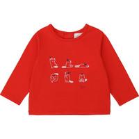Kleidung Mädchen Langarmshirts Carrément Beau Y95252 Rot