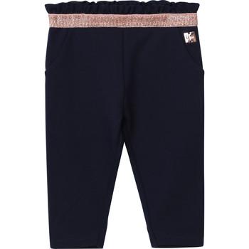 Kleidung Mädchen 5-Pocket-Hosen Carrément Beau Y94194 Blau