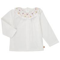 Kleidung Mädchen Langarmshirts Carrément Beau Y95244 Weiß