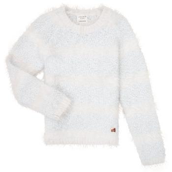 Kleidung Mädchen Pullover Carrément Beau Y15348 Blau