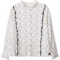 Kleidung Mädchen Tops / Blusen Carrément Beau Y15356 Weiß