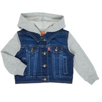 Vêtements Garçon Vestes en jean Levi's INDIGO JACKET