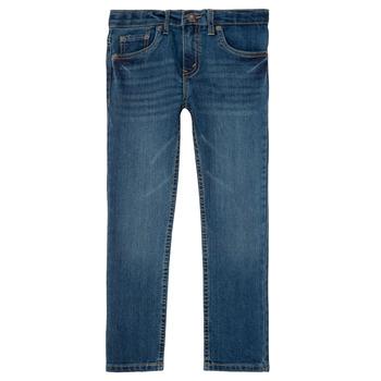 Kleidung Jungen Slim Fit Jeans Levi's 511 SLIM FIT JEAN Blau