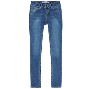 Kleidung Jungen Röhrenjeans Levi's SKINNY TAPER JEANS Blau