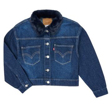 Vêtements Fille Vestes en jean Levi's OVERSIZED TRUCKER