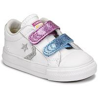 Scarpe Bambina Sneakers basse Converse STAR PLAYER 2V GLITTER TEXTILE OX