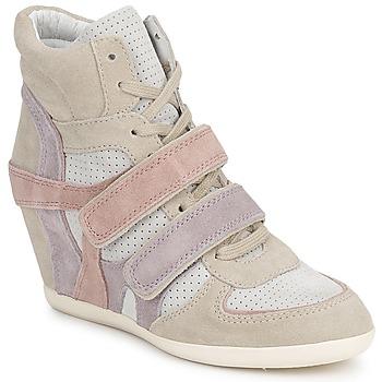 Chaussures Femme Baskets montantes Ash BIXI Rose / Violet / Gris