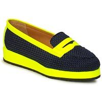 Schuhe Damen Slipper MySuelly VALENTINE Schwarz / Gelb