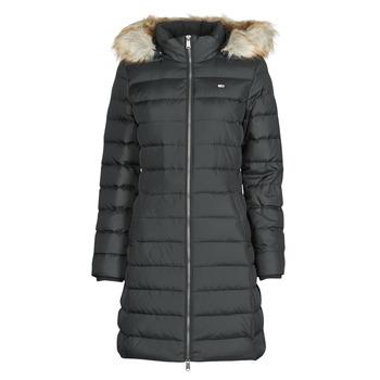 Vêtements Femme Doudounes Tommy Jeans TJW ESSENTIAL HOODED DOWN COAT