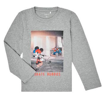 Vêtements Garçon T-shirts manches longues Name it NMMMICKEY EMIL