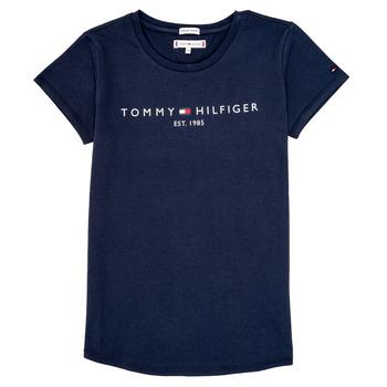 Vêtements Fille T-shirts manches courtes Tommy Hilfiger KG0KG05242-C87