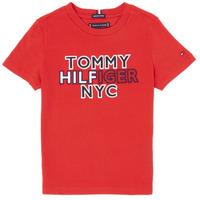 Vêtements Garçon T-shirts manches courtes Tommy Hilfiger KB0KB05848-XNL