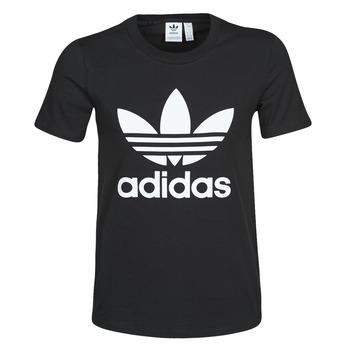 Vêtements Femme T-shirts manches courtes adidas Originals TREFOIL TEE