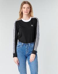 Kleidung Damen Langarmshirts adidas Originals 3 STR LS
