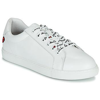 Schuhe Damen Sneaker Low Bons baisers de Paname SIMONE IN LOVE LACETS