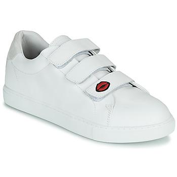 Schuhe Damen Sneaker Low Bons baisers de Paname EDITH LEGENDE Weiß