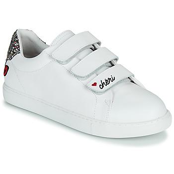 Schuhe Damen Sneaker Low Bons baisers de Paname EDITH CHERI Weiß