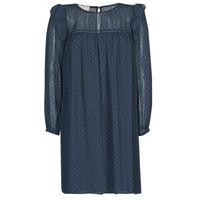 Kleidung Damen Kurze Kleider Moony Mood BREYAT Marineblau