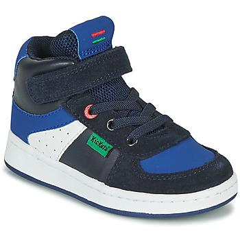 Chaussures Garçon Baskets montantes Kickers BILBON MID