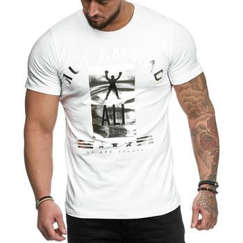 Vêtements Homme T-shirts manches courtes Cabin T-shirt fashion homme T-shirt 3288 blanc Blanc