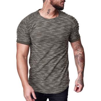 Vêtements Homme T-shirts manches courtes Cabin T-shirt homme tendance T-shirt 1496 vert Vert