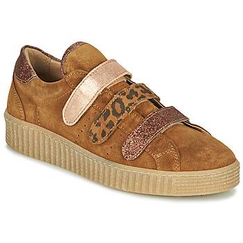 Scarpe Donna Sneakers basse Philippe Morvan ZEUS2 V1 SILKY CAMEL