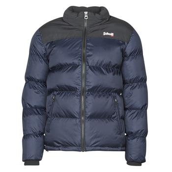 Kleidung Daunenjacken Schott UTAH Marineblau