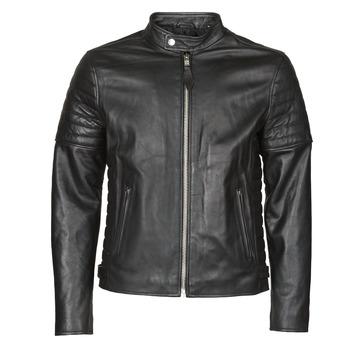 Vêtements Homme Vestes en cuir / synthétiques Schott LCJOE Noir