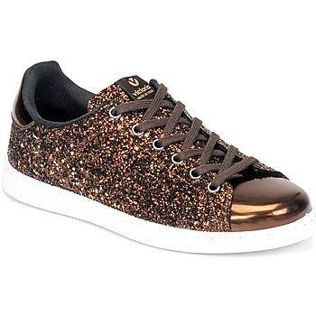 Chaussures Femme Baskets basses Victoria TENIS GLITTER