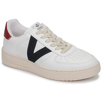 Chaussures Baskets basses Victoria SIEMPRE PIEL VEG Blanc / Bleu / Rouge