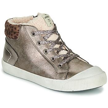 Chaussures Fille Baskets basses Victoria HUELLAS METAL Gris