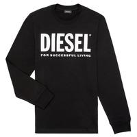 Kleidung Jungen Langarmshirts Diesel TJUSTLOGO ML
