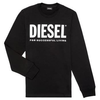 Vêtements Garçon T-shirts manches longues Diesel TJUSTLOGO ML
