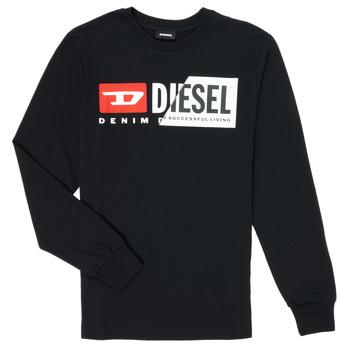 Abbigliamento Unisex bambino T-shirts a maniche lunghe Diesel TDIEGOCUTY