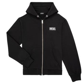 Vêtements Garçon Sweats Diesel SGIRKHOODZIP LOGO