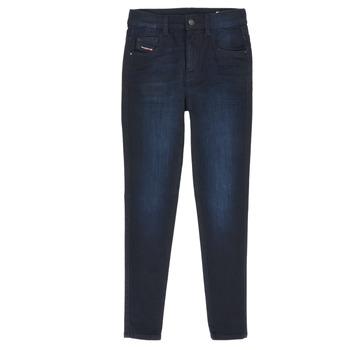 Abbigliamento Bambina Jeans slim Diesel D-SLANDY HIGH