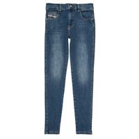 Vêtements Fille Jeans slim Diesel D-SLANDY HIGH