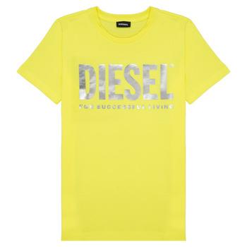 Vêtements Fille T-shirts manches courtes Diesel TSILYWX