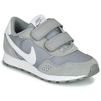 Chaussures Enfant Baskets basses Nike MD VALIANT PS Gris / Blanc