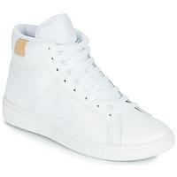 Schuhe Damen Sneaker Low Nike COURT ROYALE 2 MID Weiß