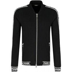 Vêtements Homme Vestes de survêtement Balmain RH08900 Noir