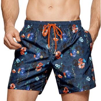 Vêtements Homme Maillots / Shorts de bain Impetus Maillot de bain homme imprimé fleuri Aruba bleu Bleu