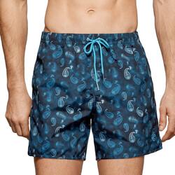 Vêtements Homme Maillots / Shorts de bain Impetus Maillot de bain homme imprimé paisley Macassar bleu Bleu