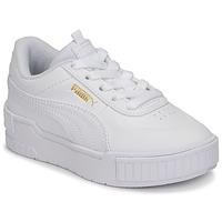Chaussures Fille Baskets basses Puma CALI SPORT PS Blanc